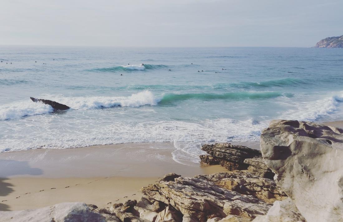 surf beach surfer surfing surfergirl guincho waves travel surflife